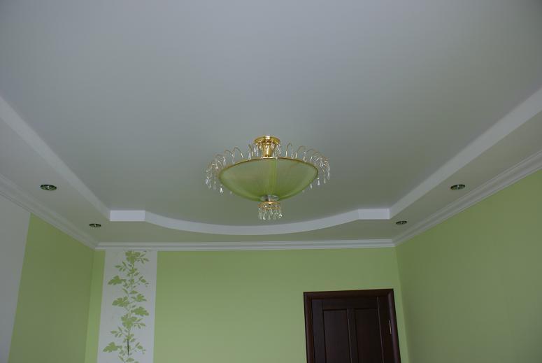 Потолок из гипсокартона ремонт своими руками 327